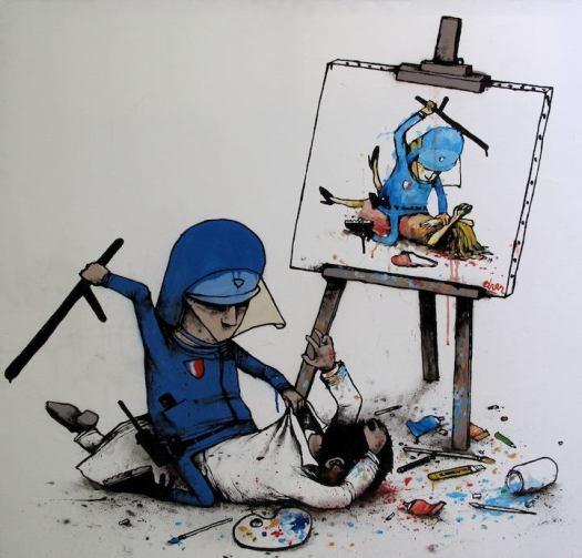 policeartviolencia
