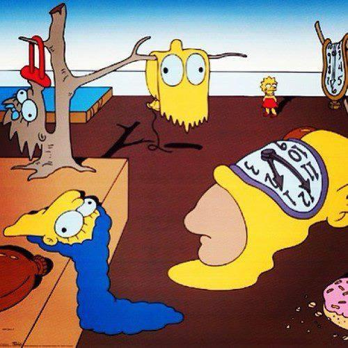 simpsons dali