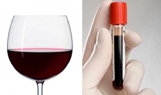 Vinho Tinto - sangue