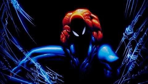 homem-aranha no escurinho