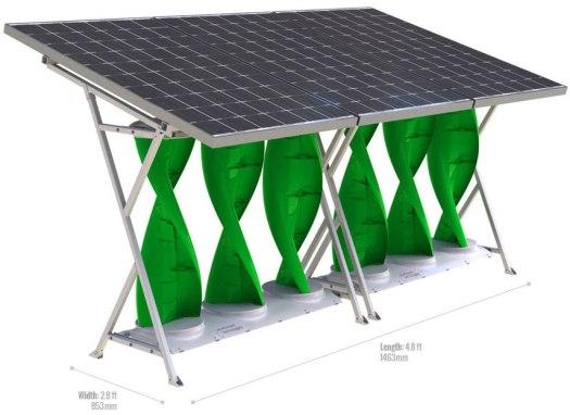 home-solarmill-model